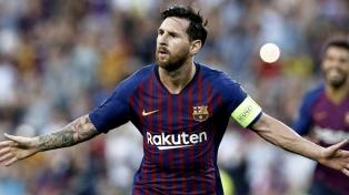 Barcelona, sobre el final y con un golazo de Messi, venció al Atlético Madrid