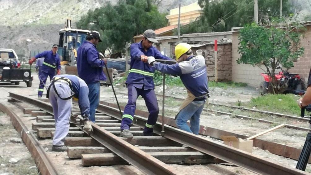Resultado de imagen para Inician trabajos para integrar ramales ferroviarios de Bolivia con la Argentina