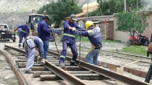 Inician trabajos para integrar ramales ferroviarios de Bolivia con la Argentina
