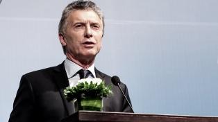"""Macri: """"Mantenemos nuestro compromiso de apoyo para llegar a la verdad y a la Justicia"""""""