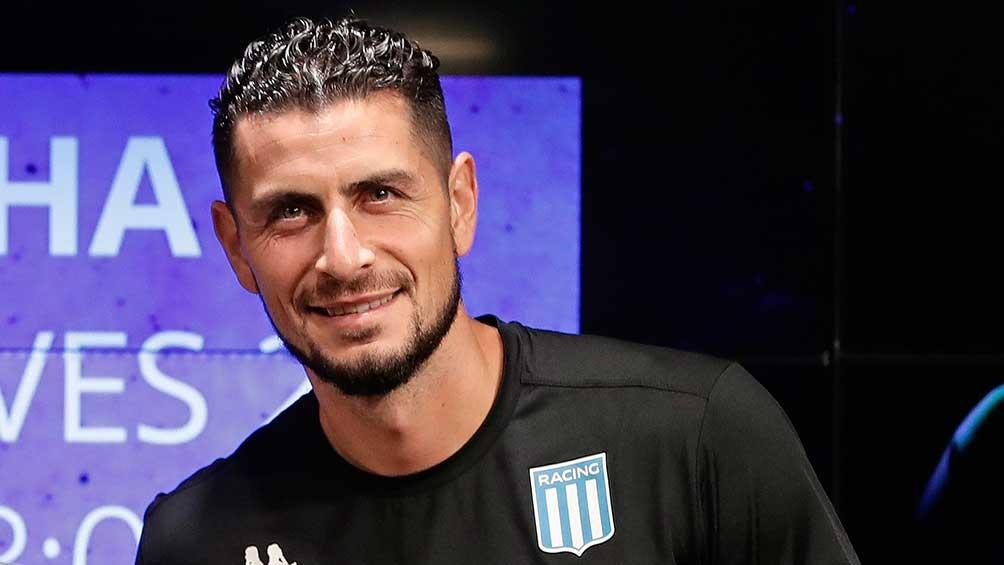 Matias Tagliamonte, uno de los refuerzos proveniente de Atlético Rafaela, tendrá la oportunidad de hacer su debut oficial en Racing.