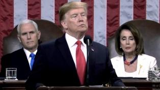 Trump insistió en que habrá muro y que no entrará al país ningún ilegal