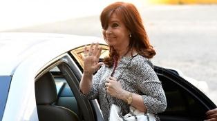 Cristina Kirchner declara en la causa de la obra pública en Santa Cruz