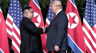 Trump celebró que Kim Jong-un quiera una tercera cumbre