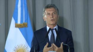 Macri publicó en las redes sociales una versión del Himno Nacional
