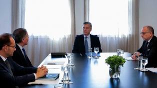 El presidente Macri recibió en Olivos al canciller de Italia