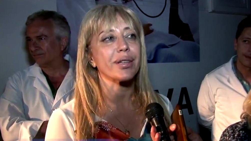 """La ministra de Salud, Rossana Chahla, señaló que ante el incremento de contagios """"de manera exponencial en la Argentina"""", en la provincia hay """"un promedio de 600 y 700 casos por día"""""""