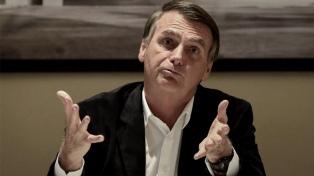 Bolsonaro activa a militares por los incendios y rechaza sanciones internacionales