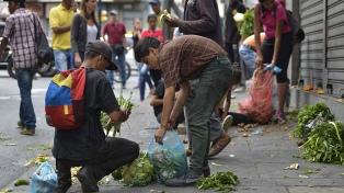 Uno de cada tres venezolanos no tiene acceso a alimentos y 60% rebajó su dieta