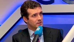 Casado cargó contra Borrell por limitar la labor de Leopoldo López