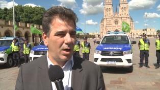 Ritondo destacó la formación y logística de la Policía al entregar nuevas 40 motos