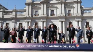 Siete presidentes dieron el primer paso para un nuevo bloque regional