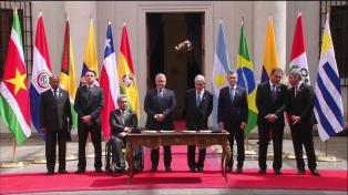 Respaldo del Prosur al gobierno del presidente ecuatoriano Lenín Moreno