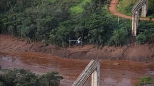 Nivel de alerta máximo por riesgo de ruptura de otra represa de la minera Vale
