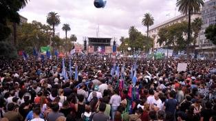 """Organizaciones de DDHH y la izquierda denunciaron """"impunidad"""" de represores y un """"plan de ajuste"""""""