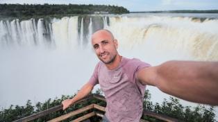Ginóbili promocionó las Cataratas del Iguazú en su despedida de la NBA