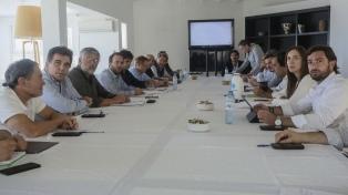 Vidal reunió a su equipo para analizar el escenario político