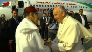 El Papa concluyó su visita a Marruecos