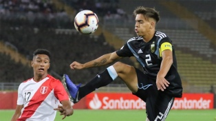 Argentina arrancó con un empate ante Perú en el hexagonal final