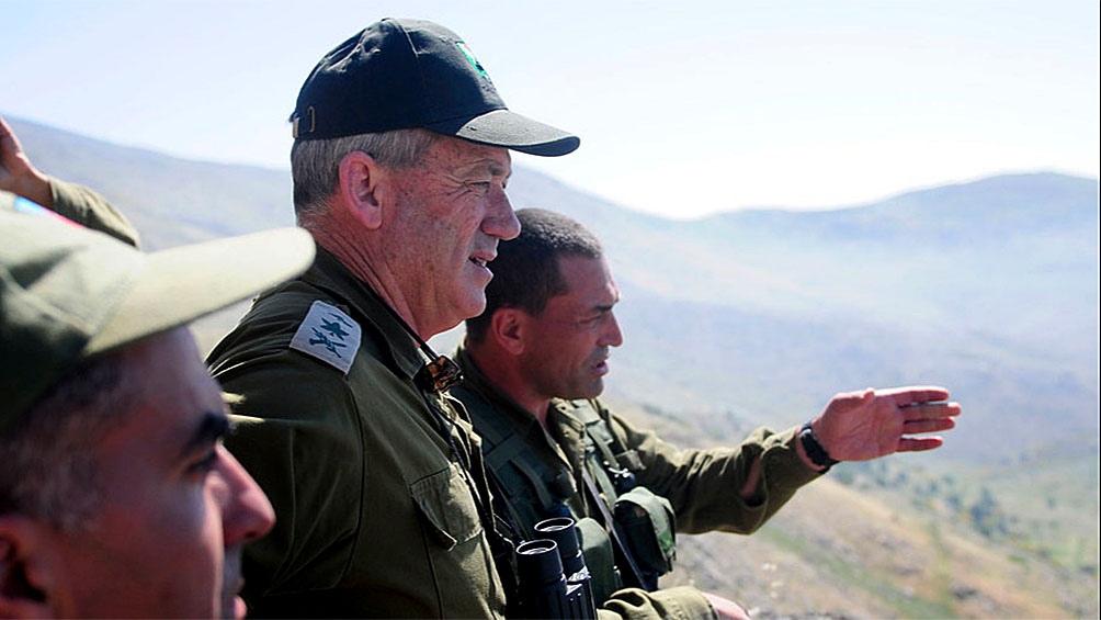 "Gantz dijo que los ataques contra Hamas ""continuarán hasta lograr la tranquilidad a largo plazo"""