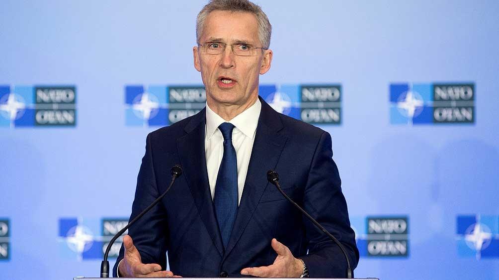 """Para el secretario general de la OTAN, Occidente debe """"enfrentar los desafíos planteados por China a nuestra seguridad""""."""