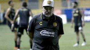 """""""Mi salida de Dorados tiene que ver con mi salud"""", aclaró Maradona"""