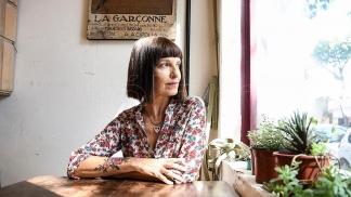 La escritora Claudia Aboaf.