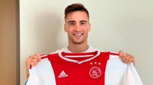 Tagliafico, en medio de semifinales de Champions, renovó con el Ajax