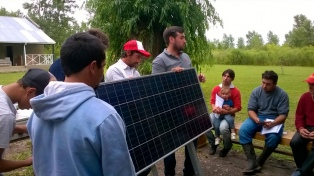 Comenzaron a instalar sistemas solares en hogares rurales sin electricidad