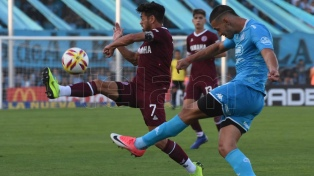 Belgrano sorprendió a Lanús y lo derrotó en Córdoba