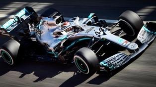 Hamilton fue el más veloz en los primeros entrenamientos en Mónaco