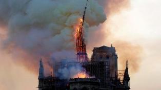 La catedral de Notre Dame celebrará el sábado su primera misa tras el incendio
