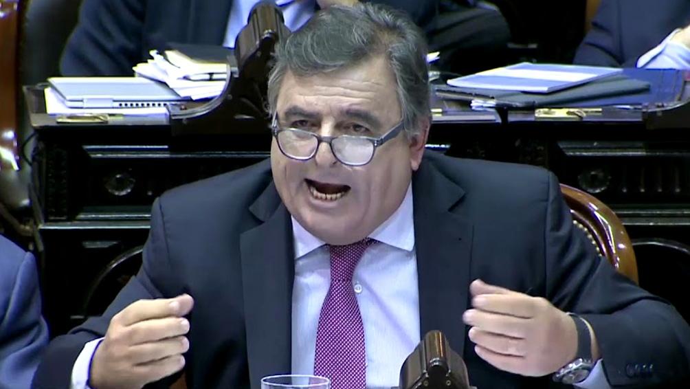 Negri, referente del oficialismo cordobés de la UCR.