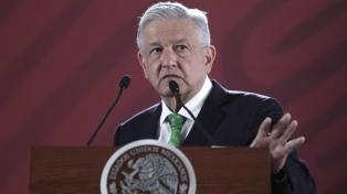López Obrador pidió a EEUU que no intervenga en su país