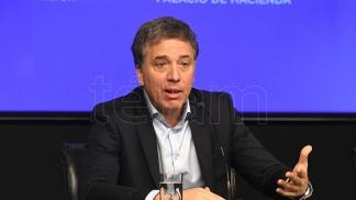 Nicolás Dujove, exministro de Hacienda.