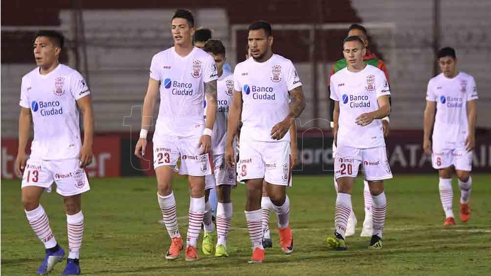 Huracán cayó por goleada ante Atlético Nacional en Medellín