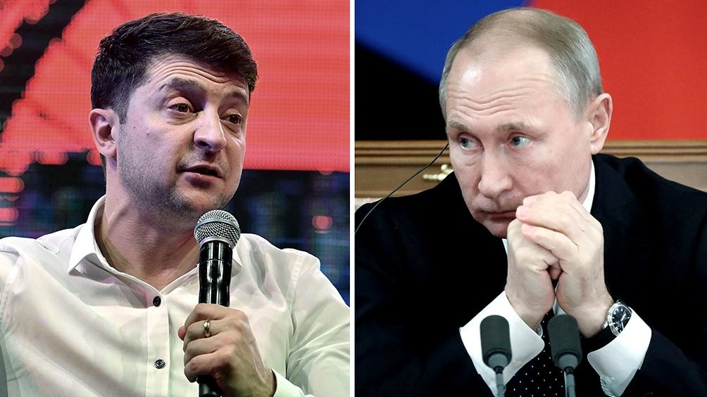Zelenski le propone a Putin reunirse en la zona limítrofe en guerra