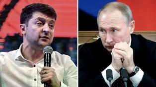 Putin y Zelenski dialogan sobre el conflicto en el este de Ucrania