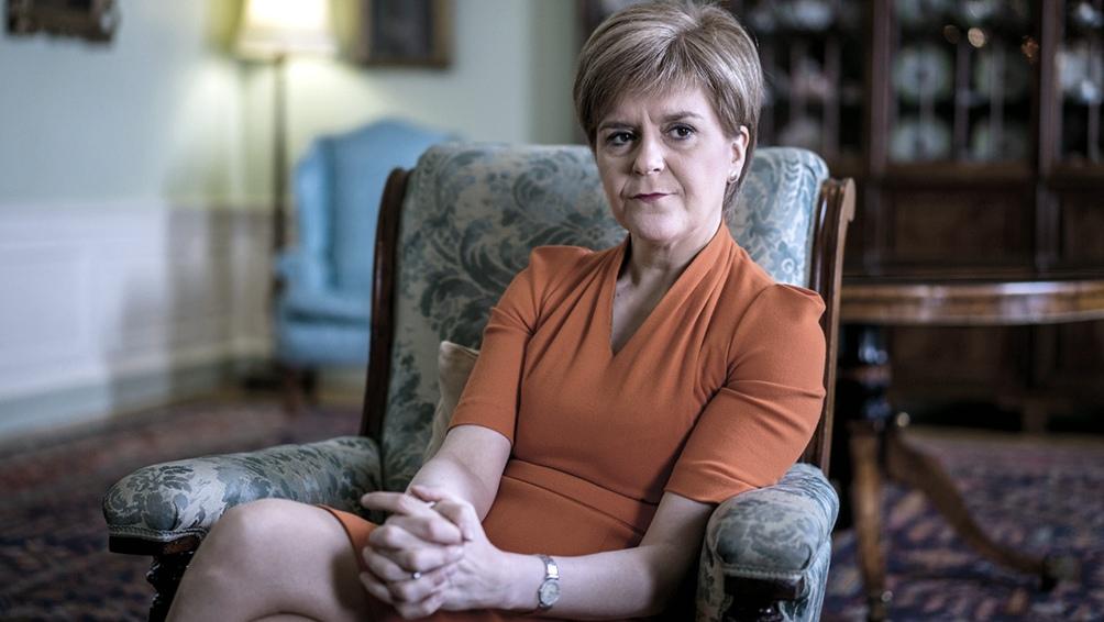 Nicola Sturgeon, primera ministra de Escocia.
