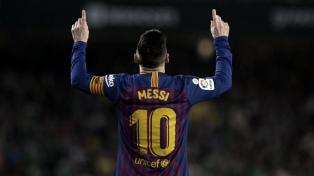 El presidente de Barcelona quiere a Messi de por vida