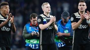 Tottenham sufrió ante un gran partido de Ajax