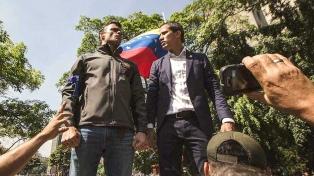 """Guaidó anunció la creación de un """"centro de Gobierno"""" que liderará Leopoldo López"""