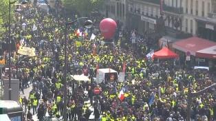 Marchas en todo el mundo en un 1º de Mayo marcado por las coyunturas nacionales