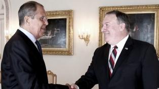 Lavrov y Pompeo debatirán la prórroga del START y Venezuela