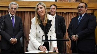 Capuchetti juró como jueza federal, en reemplazo de Oyarbide
