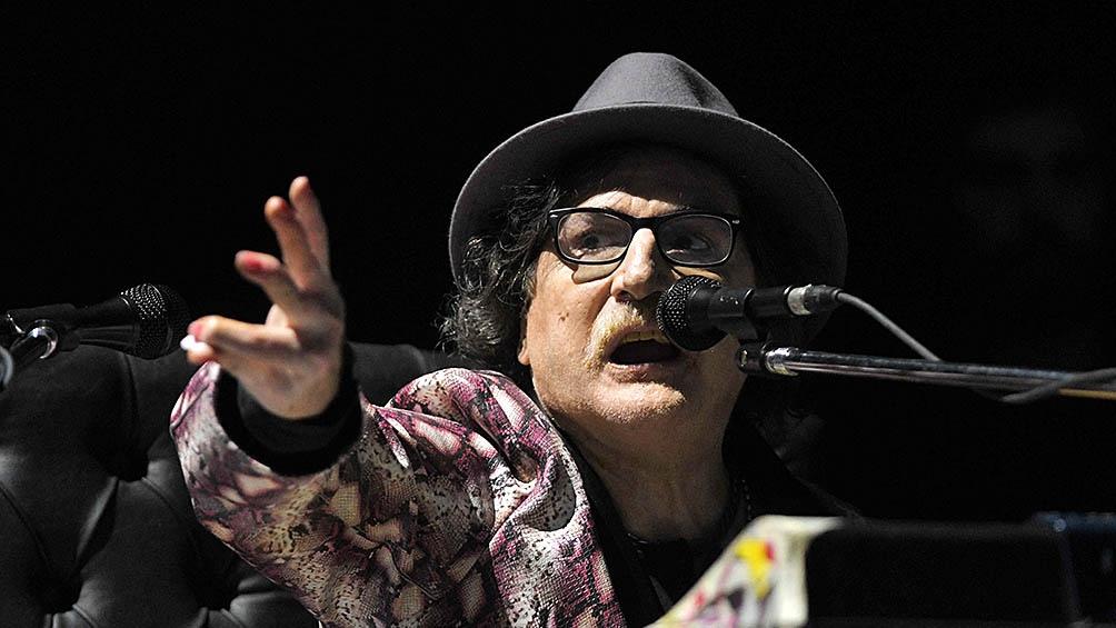 El vinilo es un registro del recordado show que Charly García ofreció en 1995.
