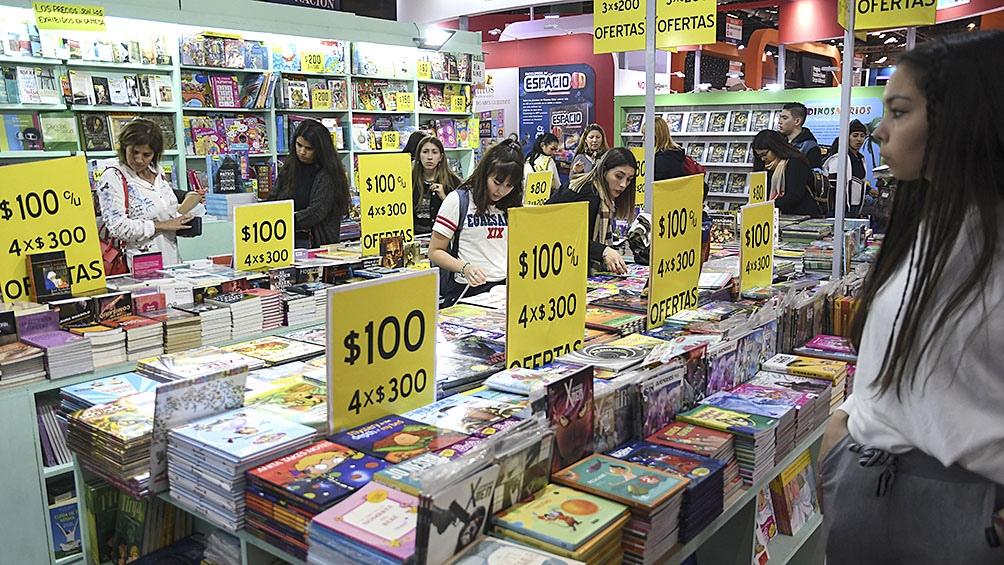 La Feria del Libro de Buenos Aires acostumbra tener 50.000 visitas en una jornada.