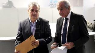 D'Onofrio y Cantero manifestaron la necesidad de avanzar con la ley antibarrabravas