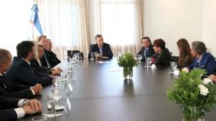 Macri recibió en Olivos a directivos de empresas fabricantes de calzado y marroquinería