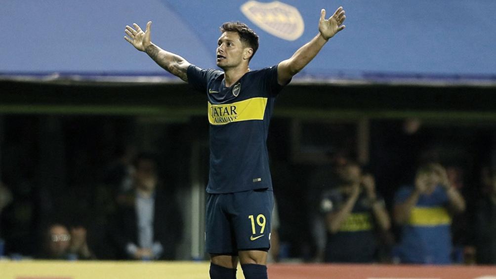 Zarate jugó en Boca 65 partidos, con 17 goles convertidos.
